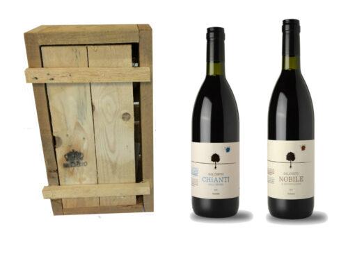 salcheto wooden box