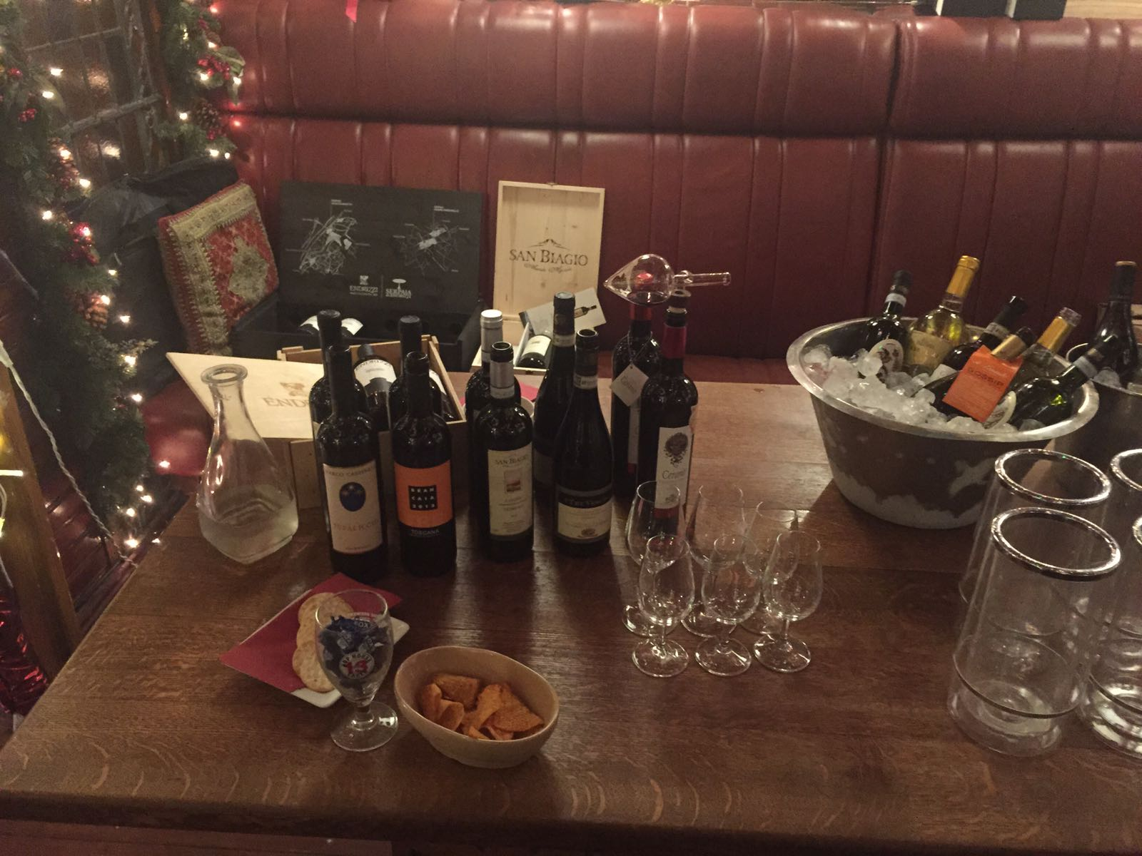 A Taste of Italy @Hole in the Wall Wine Christmas Fair – 28th November 2016