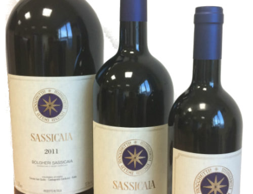 Sassicaia 2015 chosen as best wine of the world for Wine Spectator