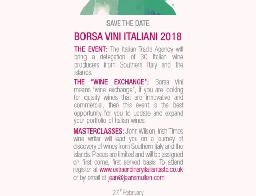 2018 Borsa vini…..even this year!