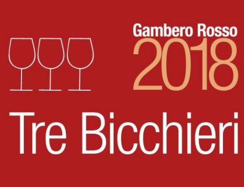 "Gambero Rosso ""3 glasses 2018"" awards"